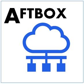 クラウドストレージ+ファイル共有サービス「AFTBOX」のイメージ